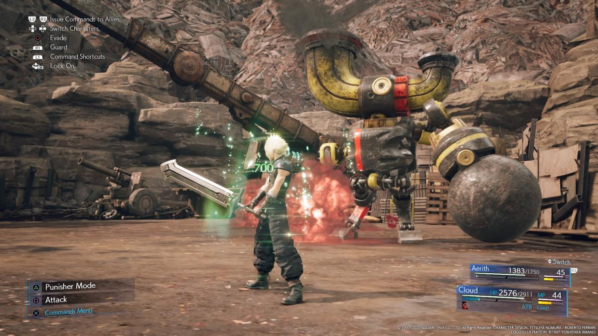 Боевая система в действии / скриншот