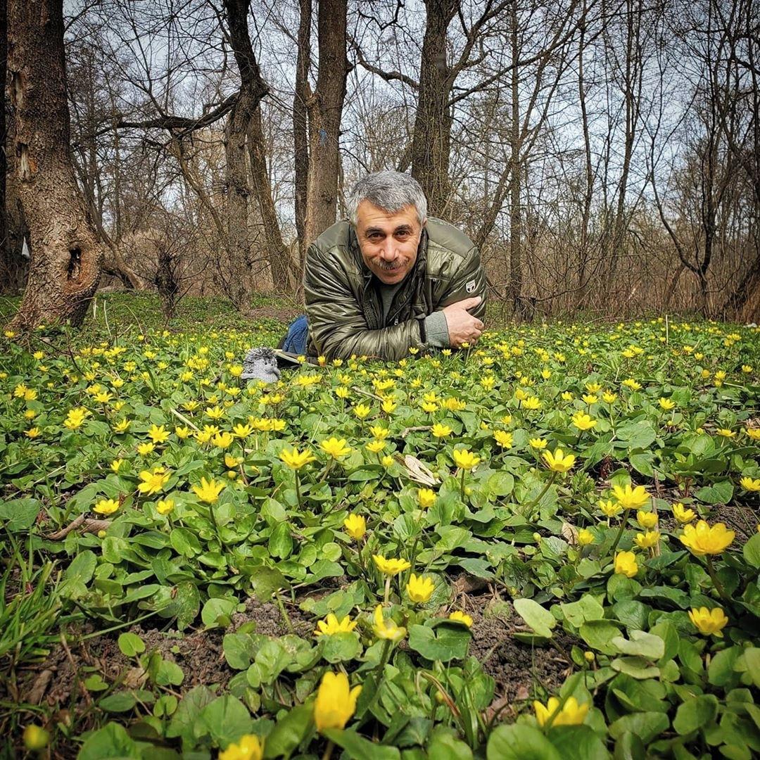 Комаровский привился от коронавируса / instagram.com/uakomar/