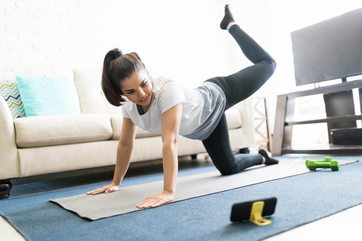 Регулярная физическая активность помогает защититься от тяжелой формы COVID-19 / фото ua.depositphotos.com