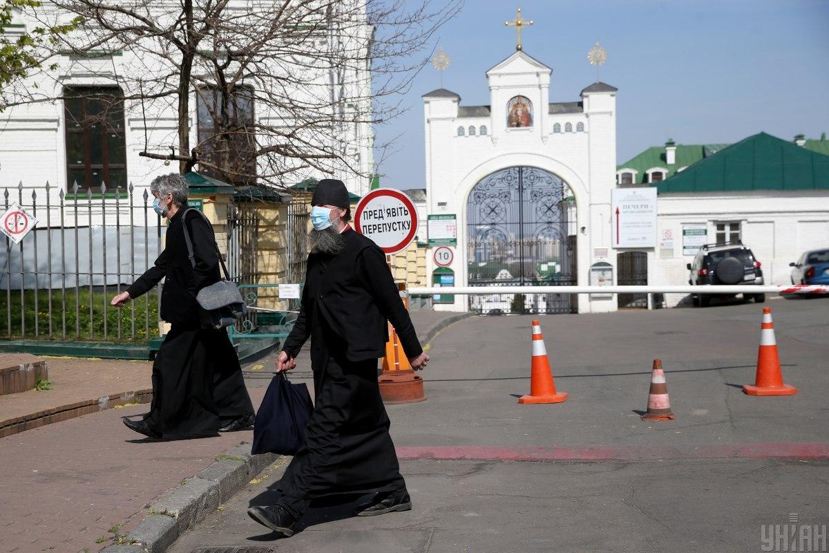 Лавру закрыли на карантин из-за коронавируса / фото УНИАН