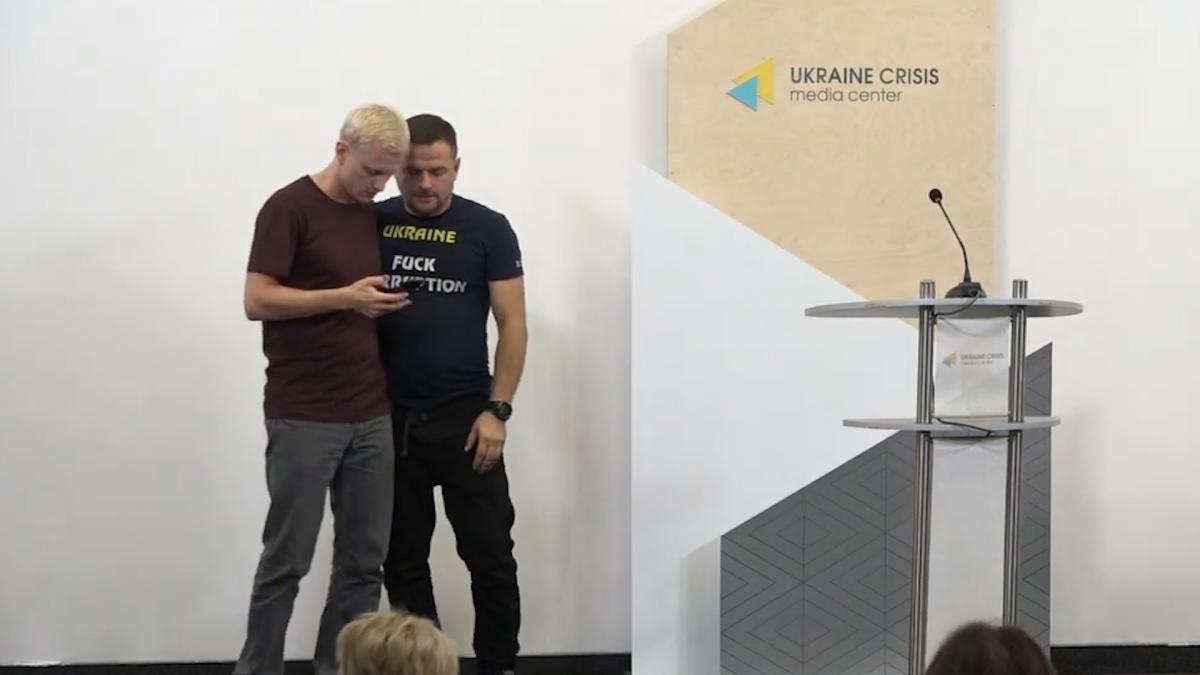 Віталій Шабунін та Дмитро Шерембей
