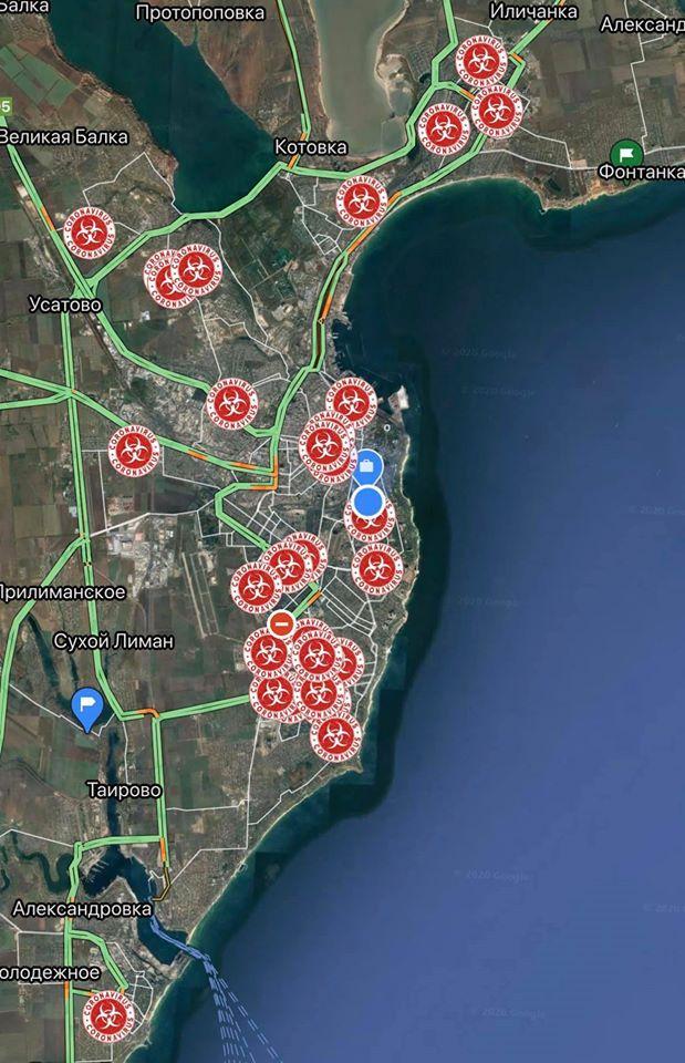 Сейчас в регионе подтверждены 69 случаев COVID-19 / фото Одесской ОГА