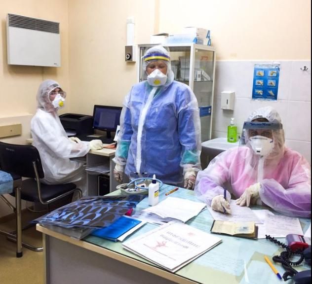 В Олександрівській лікарні - десятки хворих на коронавірус / facebook.com/doc.antonenko