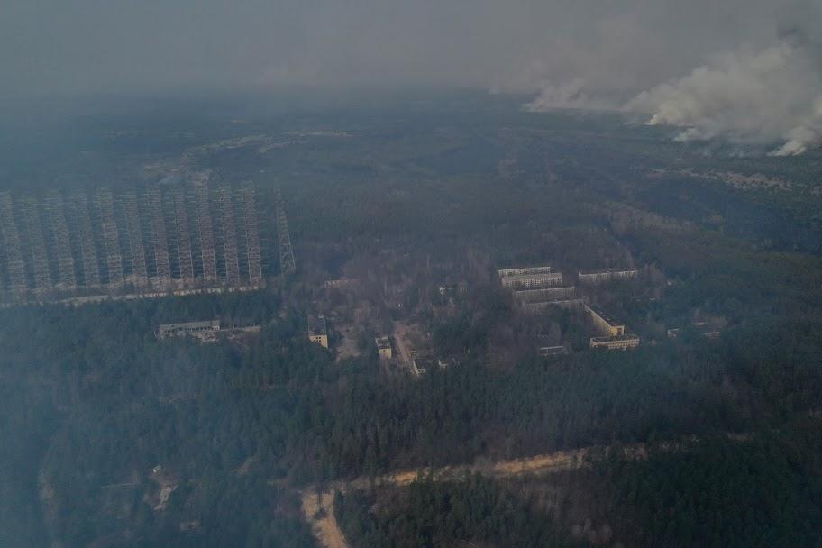 В результате пожаров ни один критический объект инфраструктуры не пострадал