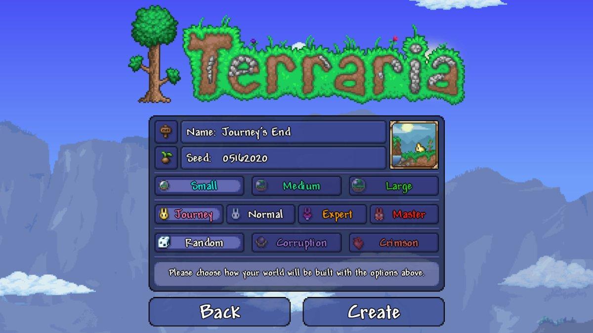 Последнее дополнение к игре Terraria выйдет 16 мая / twitter.com/Demilogic