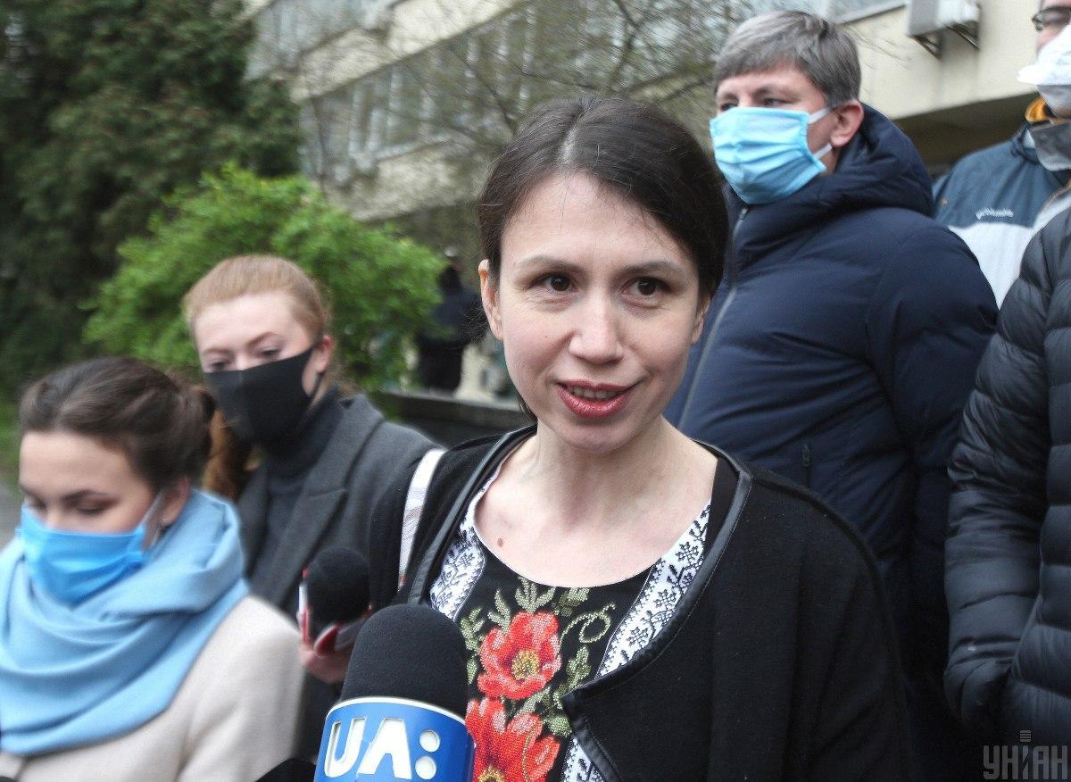Черновол рассказала, как побила Шабунина, за то, что он мешал ей ломать схемы Яценко / УНИАН