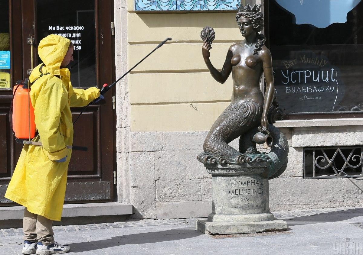 Львівщина продовжила карантин до 7 липня / фото УНІАН