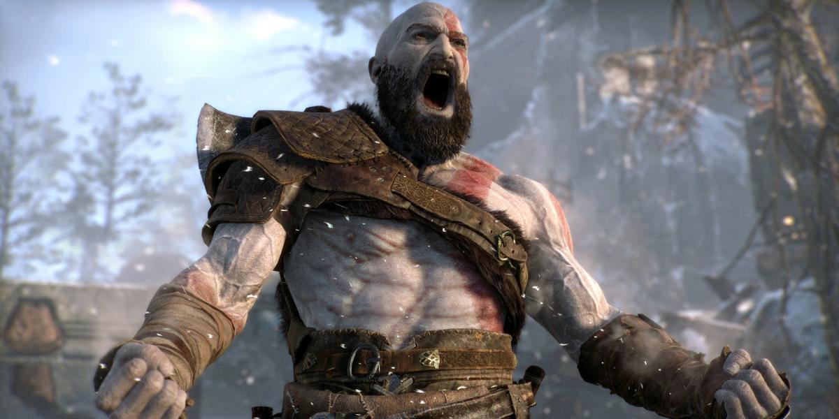 Кадр из игры God of War / скриншот