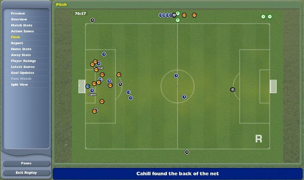 Кадр из Football Manager 2005 / скриншот
