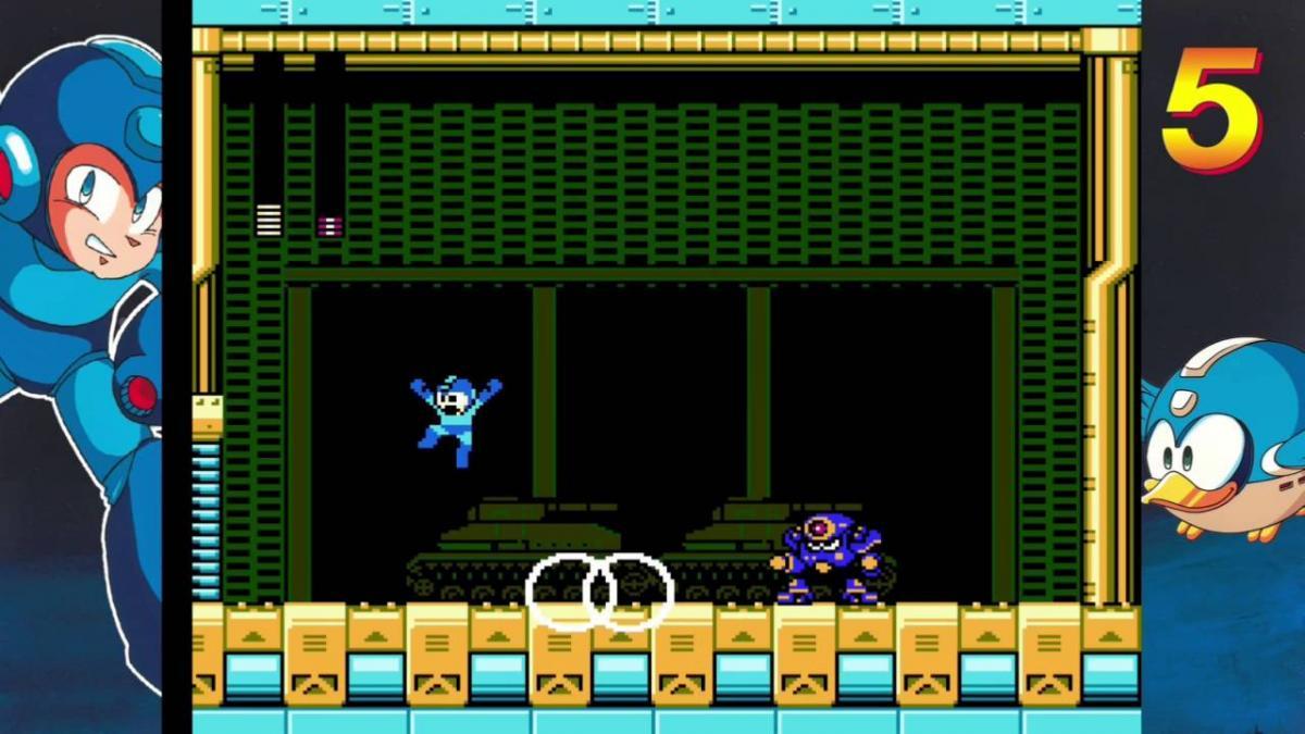 Mega Man 5 / скриншот