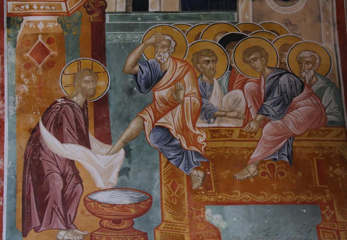 Чистый четверг: Иисус Христос омыл ноги своим ученикам / фото Depositphotos