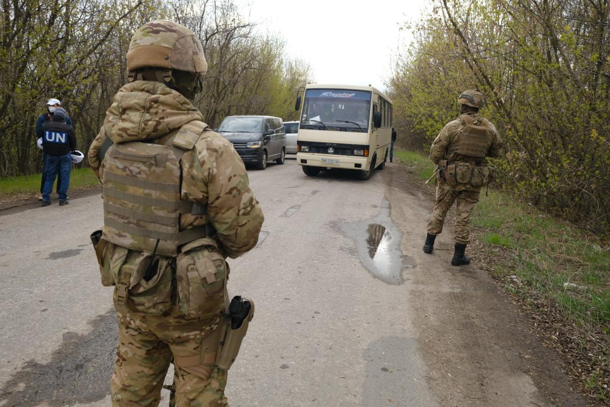 На оккупированные территории выехали 14 человек / фото ОП