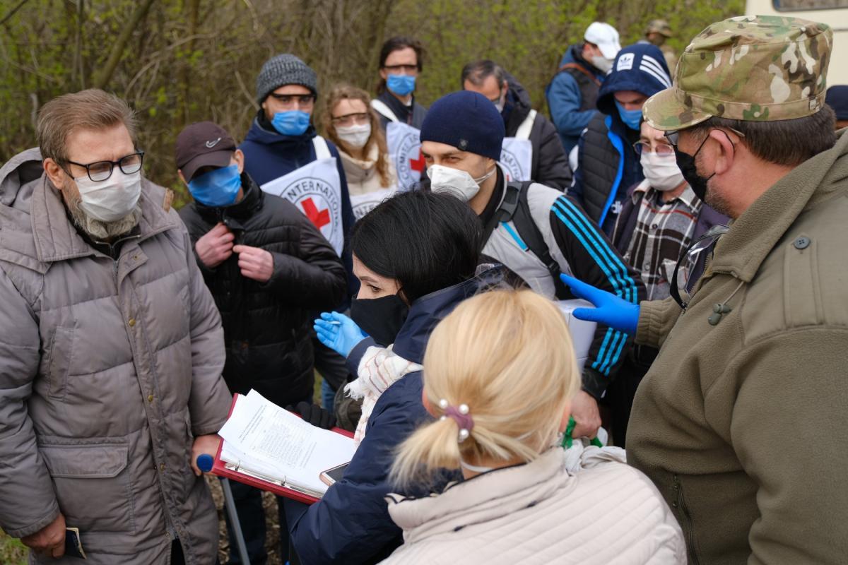 С ОРЛО Украина планирует забрать около 10 человек \ фото ОП