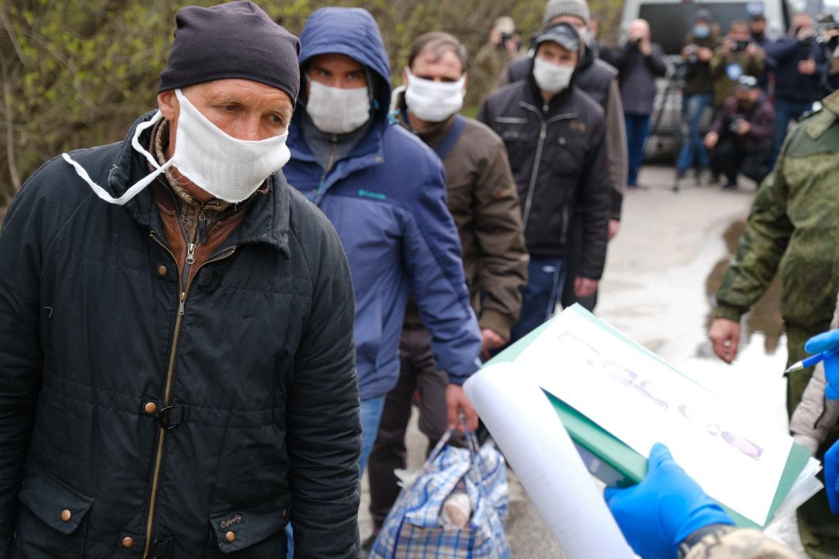 Украинцев обеспечат питанием, одеждой и медицинским уходом / ОП