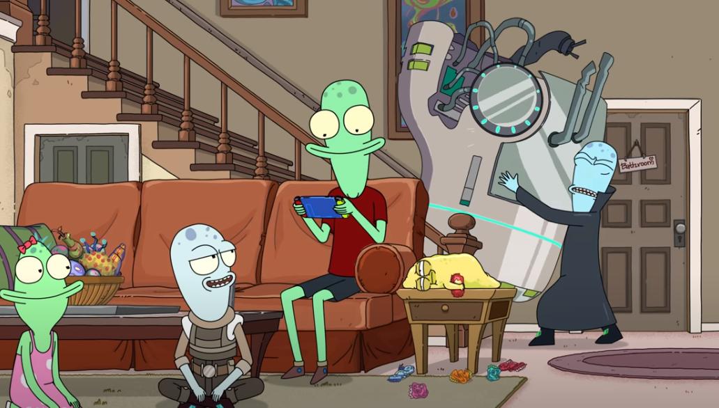 Все серии будут доступны на Hulu 8 мая \ скриншот с видео