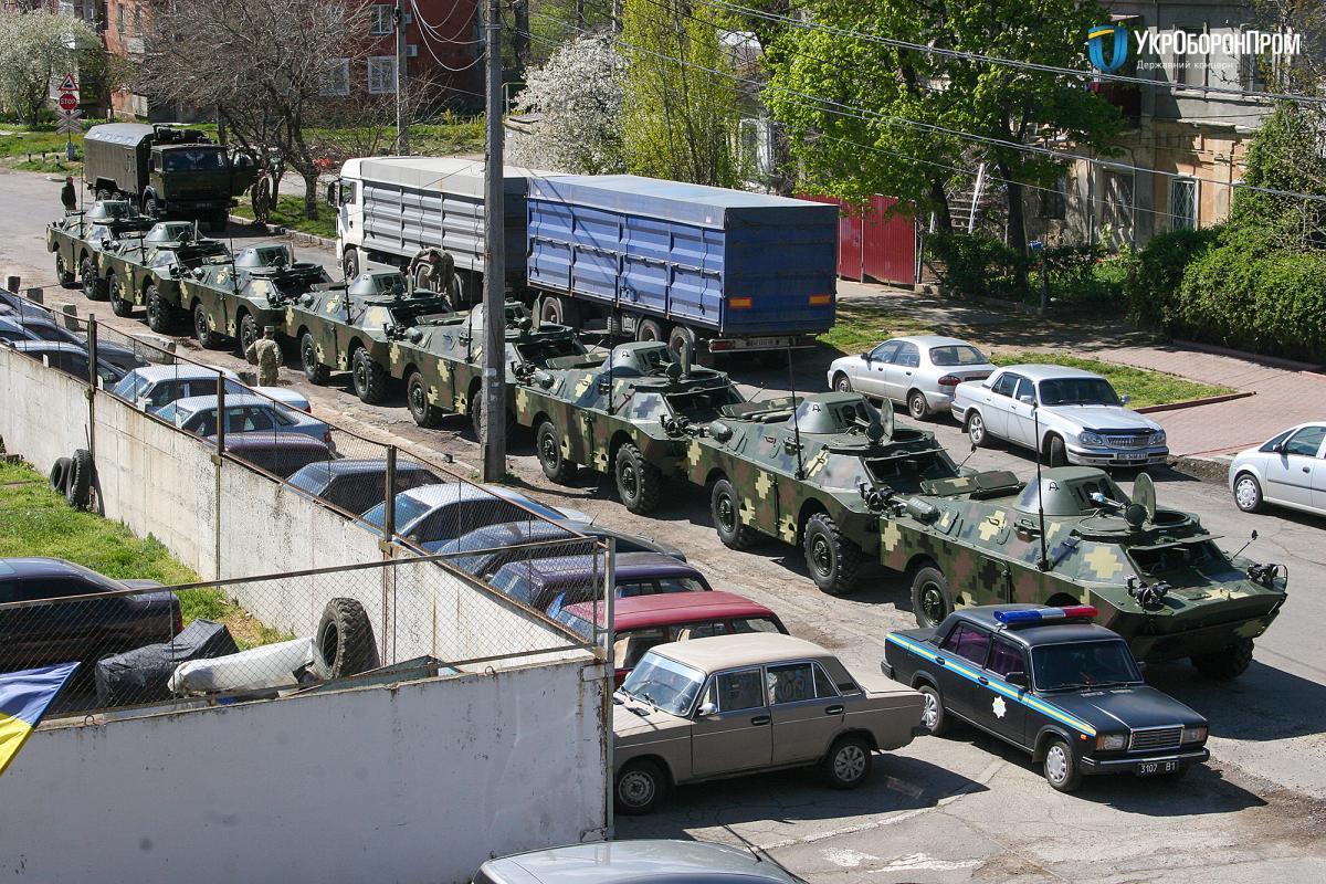 Министерство обороны Украины получило партию из 8 единиц техники / фото ukroboronprom.com.ua