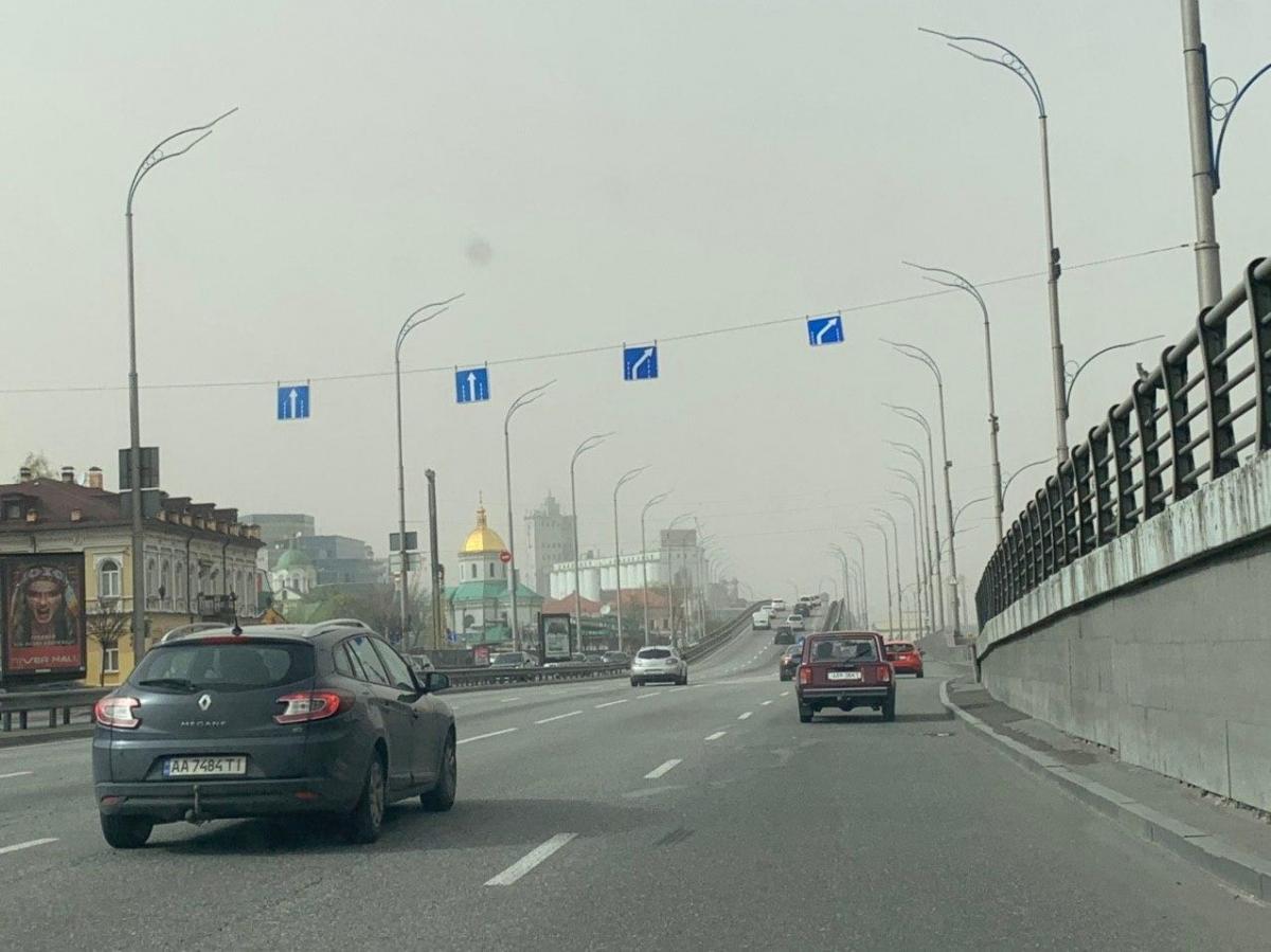 Синоптик объяснила, почему Киев накрыла пыльная буря \ УНИАН