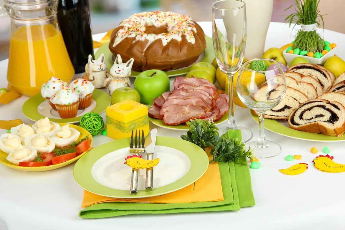 Меню на пасхальный стол: идеи блюд / фото: ua.depositphotos.com