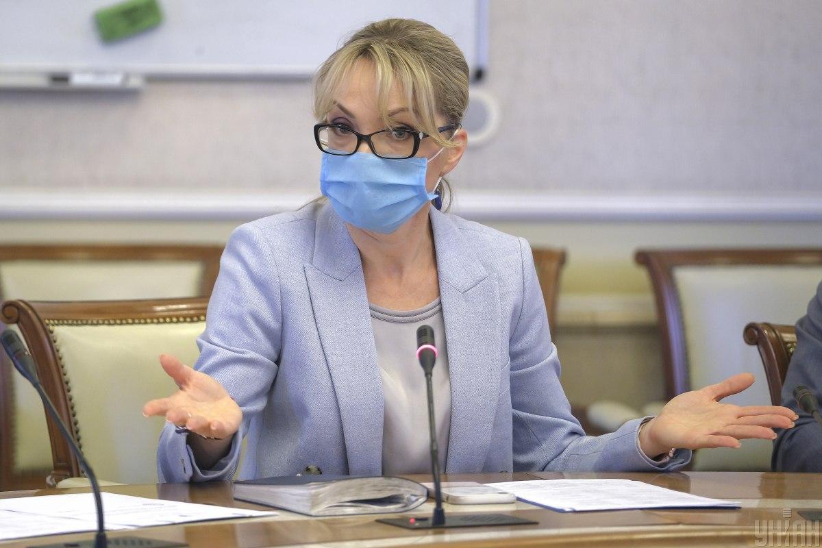Временный министр энергетики Ольга Буславец/ фото УНИАН