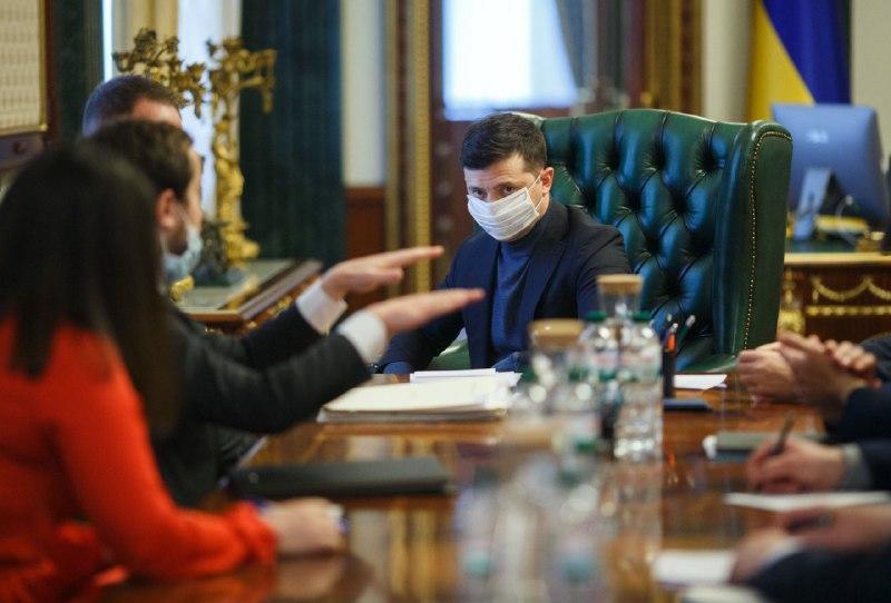 Photo from Ukrainian President's Office / Telegram