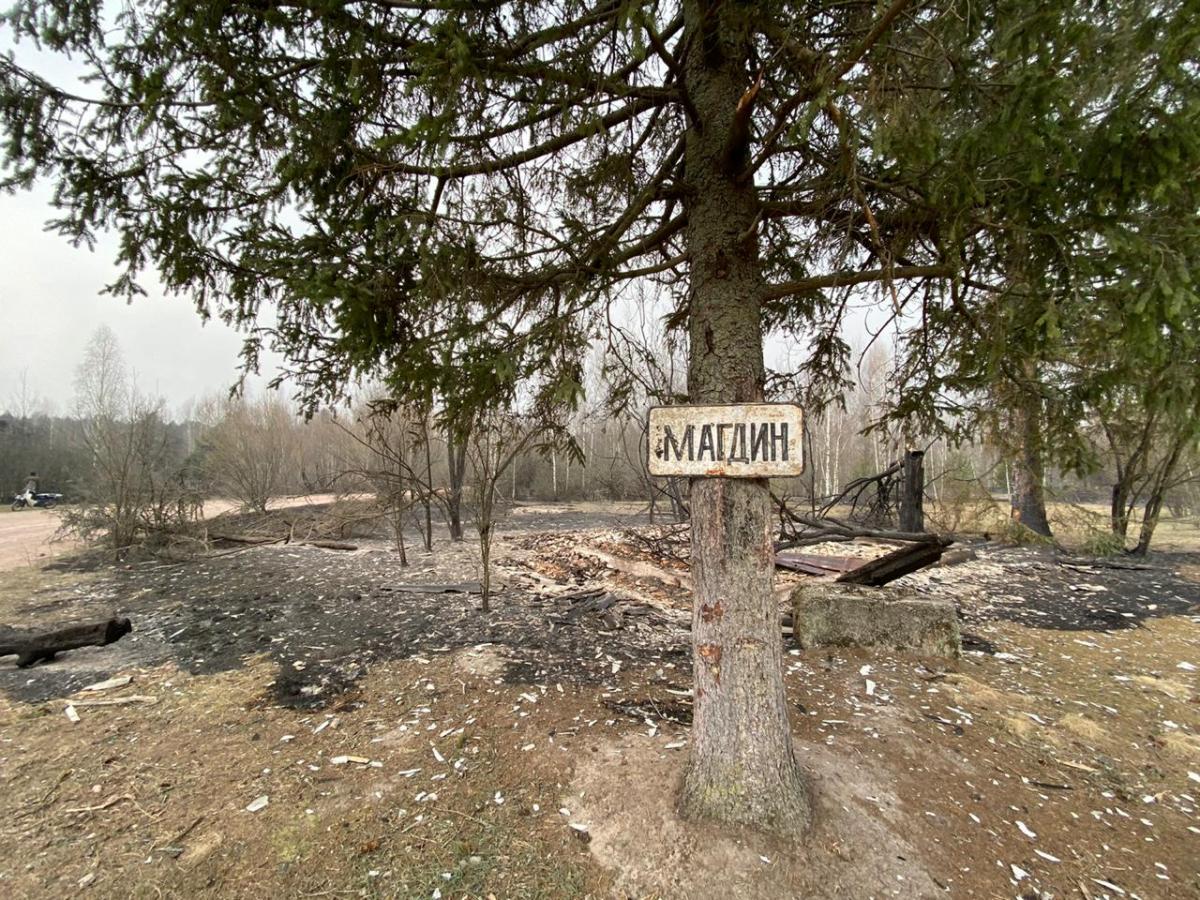 Згоріли десятки будинків / фото Facebook Віталія Бунечка