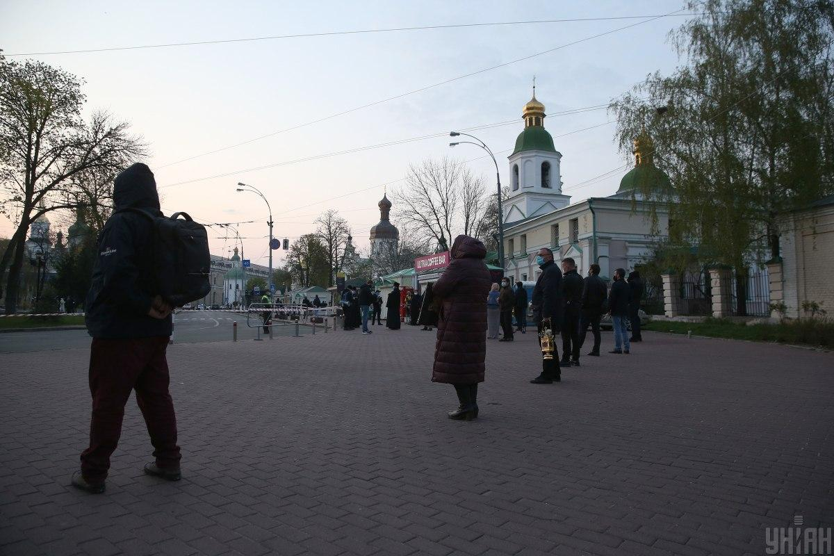 КГГА просит не проводить массовые богослужения / фото УНИАН
