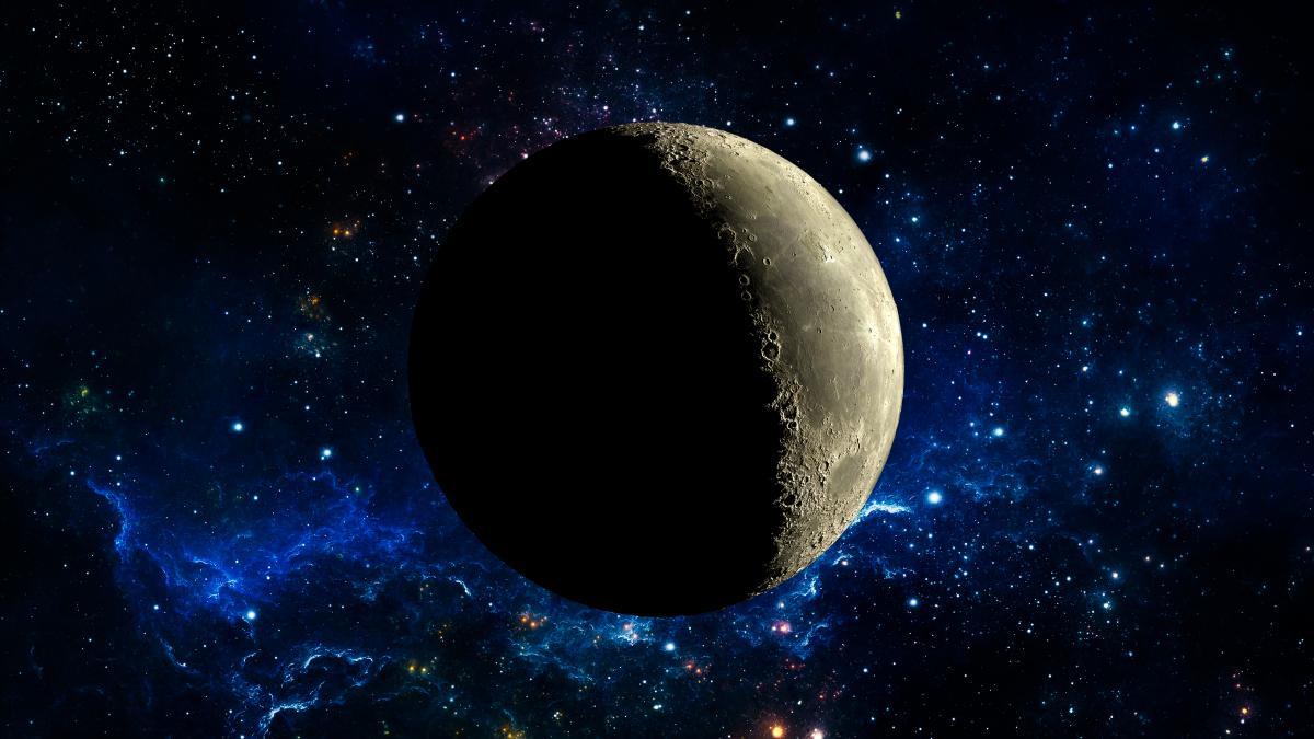 Лунный месяц складывается из 29-30 лунных суток / фото: ua.depositphotos.com