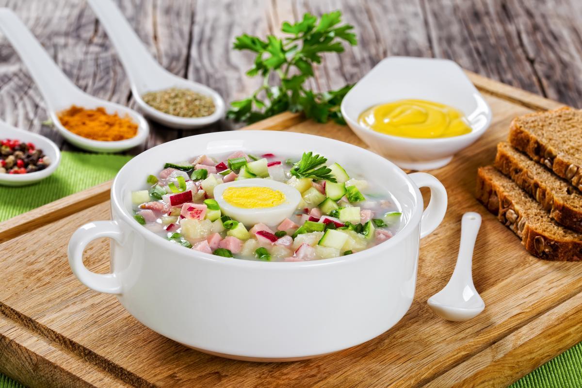 Окрошка классическая – рецепт / фото: ua.depositphotos.com