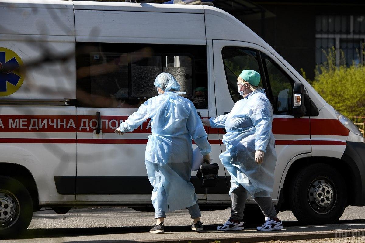 Среди новых заболевших четверо медиков. / УНИАН
