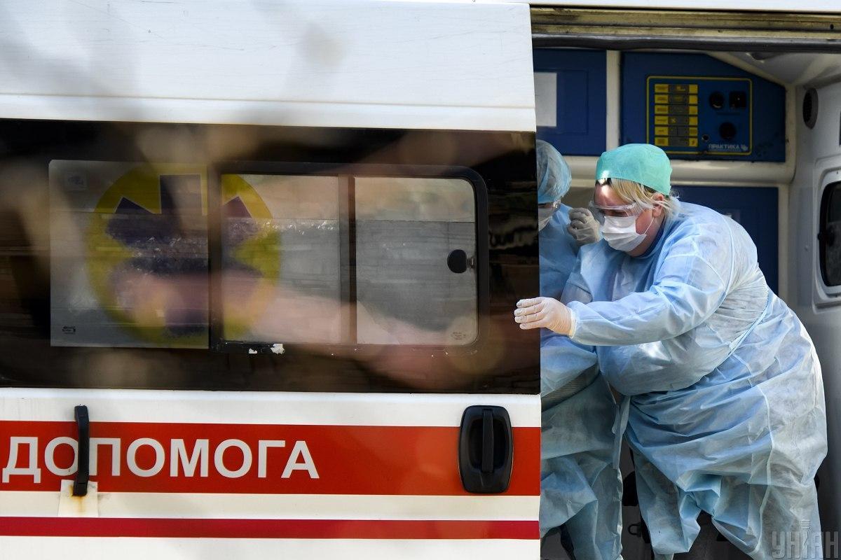 В Ривном коронавирусом заразились десятки медиков / Иллюстрация УНИАН