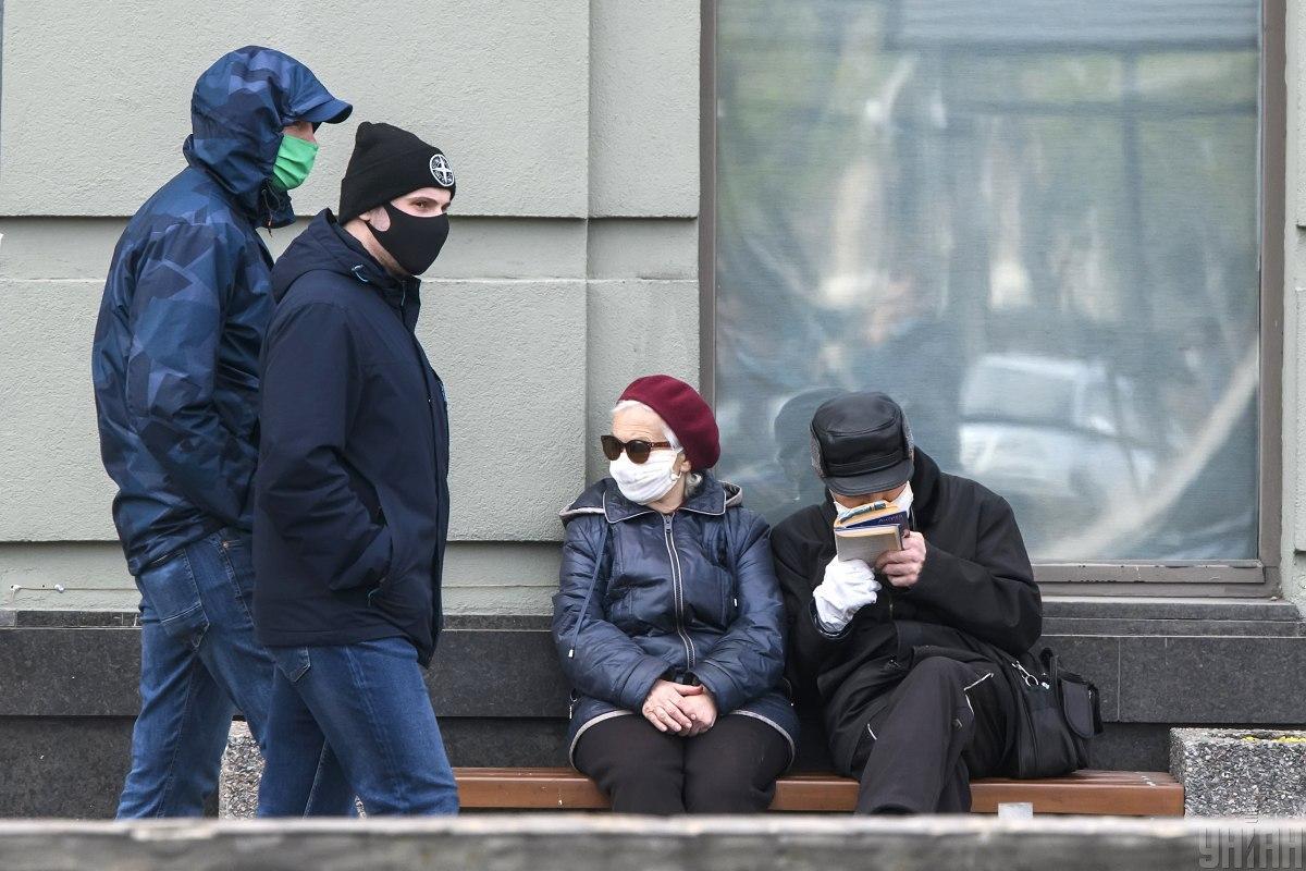Уже более 1500 киевлян заболели COVID-19 / фото УНИАН