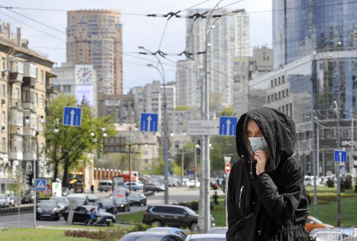 Число инфицированных коронавирусом в Киеве приближается к 1200 / фото УНИАН