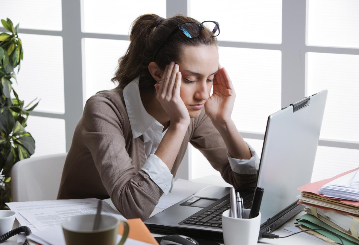 Болит голова - когда следует идти к врачу / фотоua.depositphotos.com