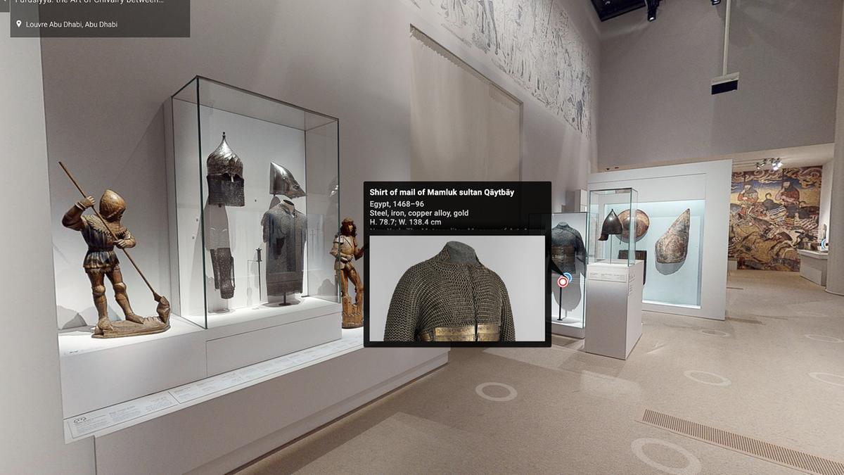 Экспозиция включает в себя более 130 артефактов \ thenational.ae