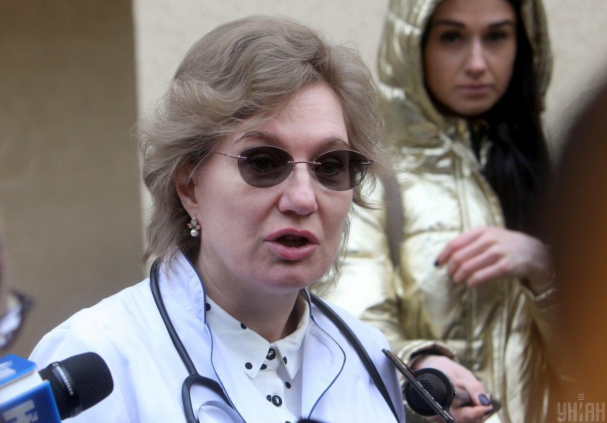 Ольга Голубовская назвала пик заболеваемости на коронавирус в Украине / фото УНИАН