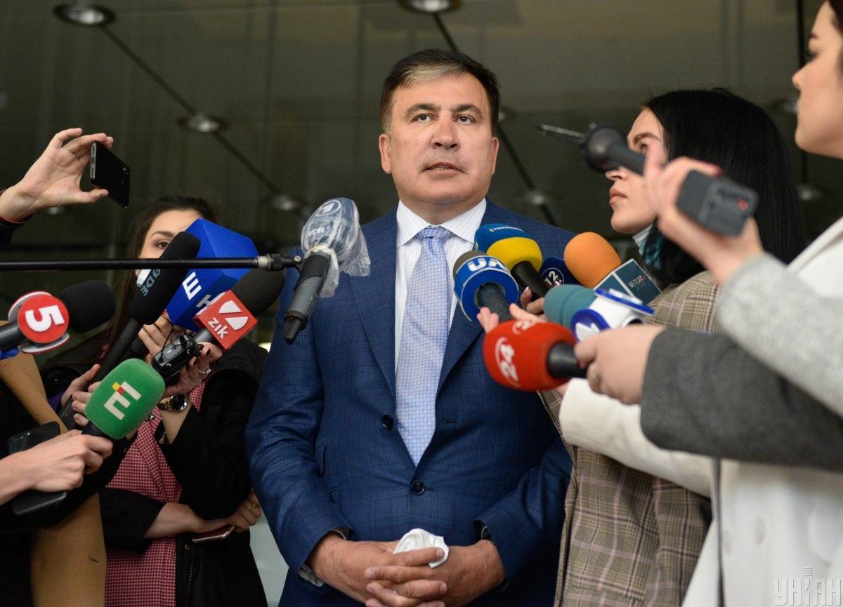 Саакашвили не назвал точную дату своего назначения / Фото УНИАН