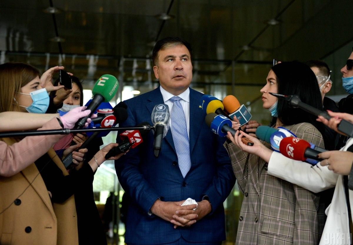 Mikheil Saakashvili / photo UNIAN