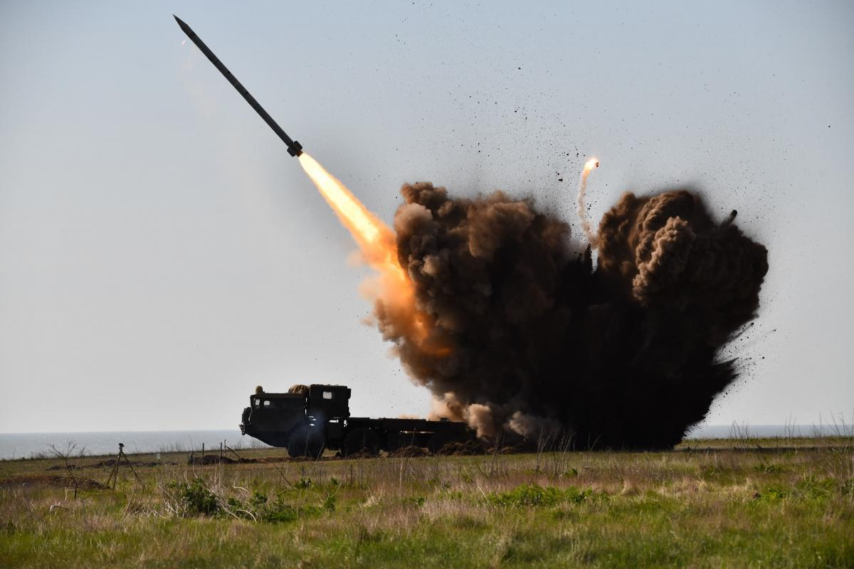 Испытания системы Вильха-М состоялись в субботу, 25 апреля / фото facebook.com/GeneralStaff.ua/