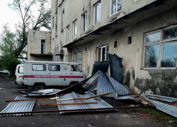 По Закарпатьюпронесся мощный ураган / carpathia.gov.ua