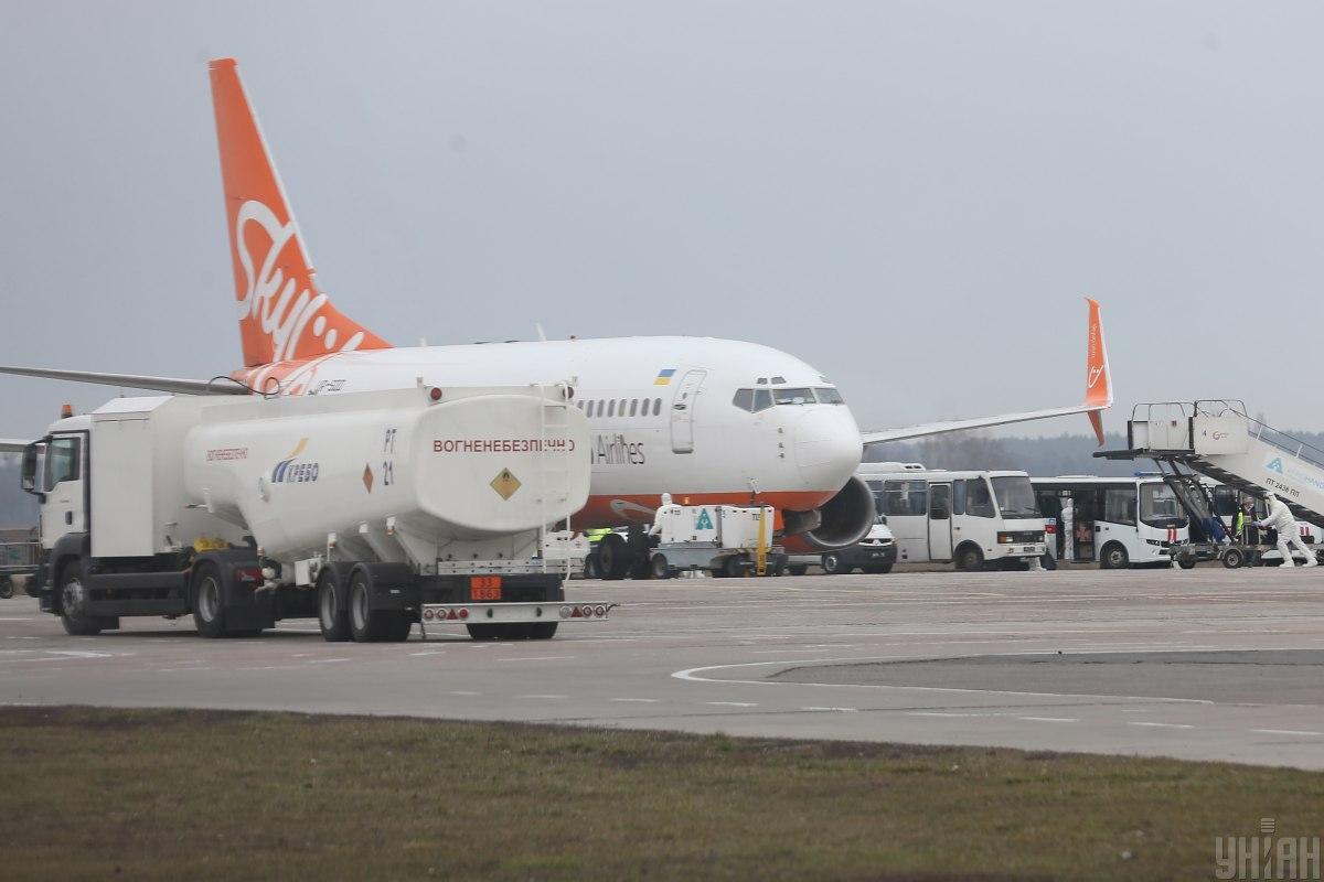 28 квітня в Україну має прибути спеціальний рейс авіакомпанії SkyUP із Швеції / фото УНІАН