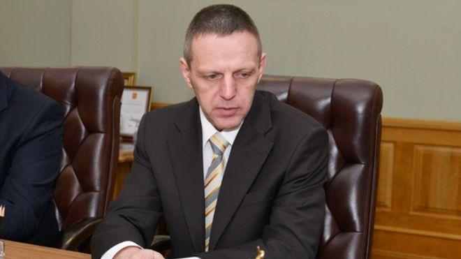 Заместитель руководителя Пограничной службы ФСБ Андрей Бурлака / фото BRYANSKOBL.RU