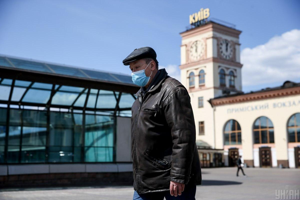 За минувшие сутки заболевания COVID-19 подтверждено в 56 киевлян / фото УНИАН