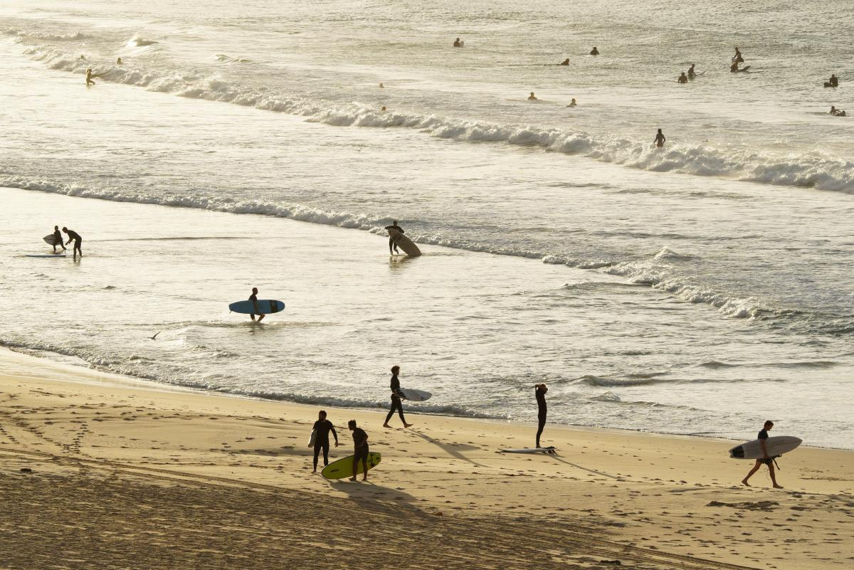 """64-річний чоловік спав на пляжі, поки не вирішив, що життя за ґратами буде """"набагато простішим"""" / фото REUTERS"""