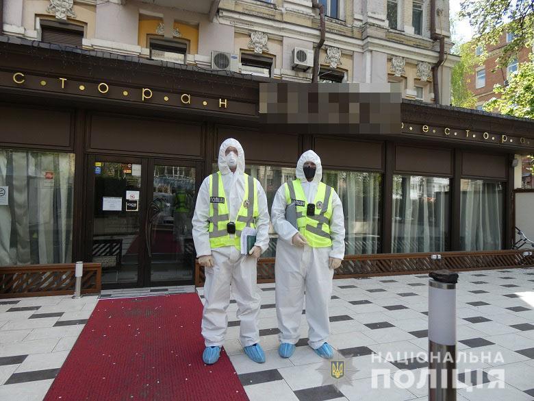 """Полиция проверила ресторан """"Велюр"""" / Национальная полиция"""