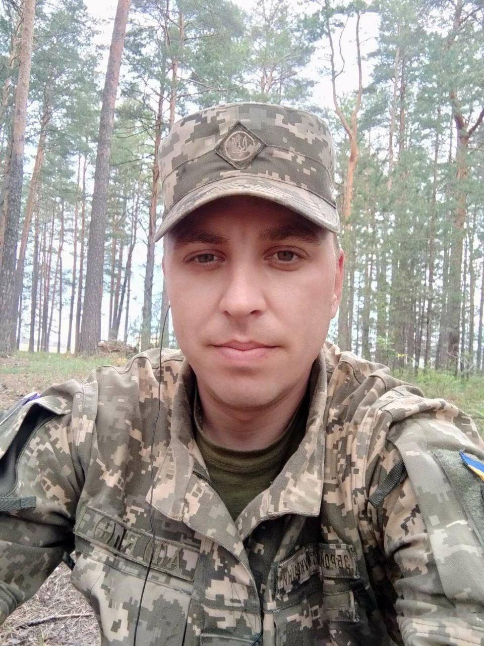 До армии Алексей Лисин работал дальнобойщиком в Днепре / фото facebook.com/93OMBr