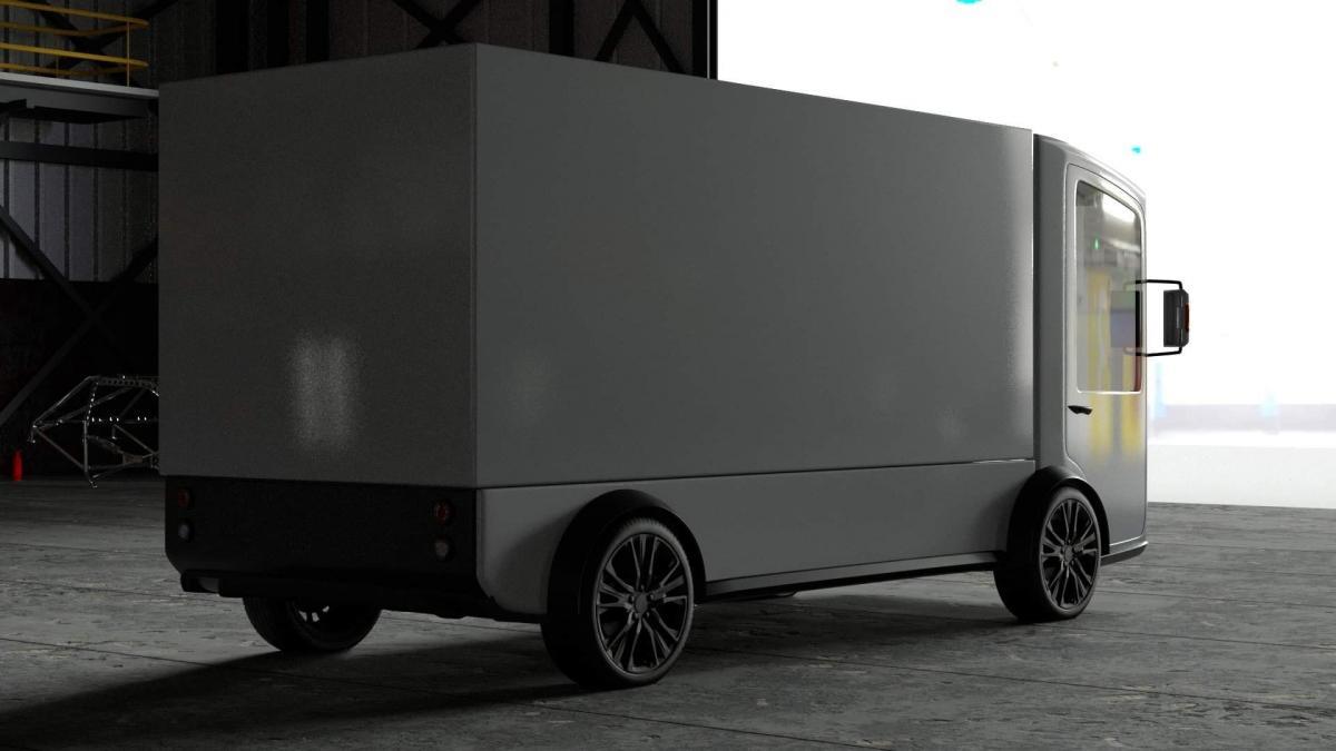 Машину в движение будет приводить электродвигатель отечественного производства / фото facebook.com/Vitaliy.Bryzhalov