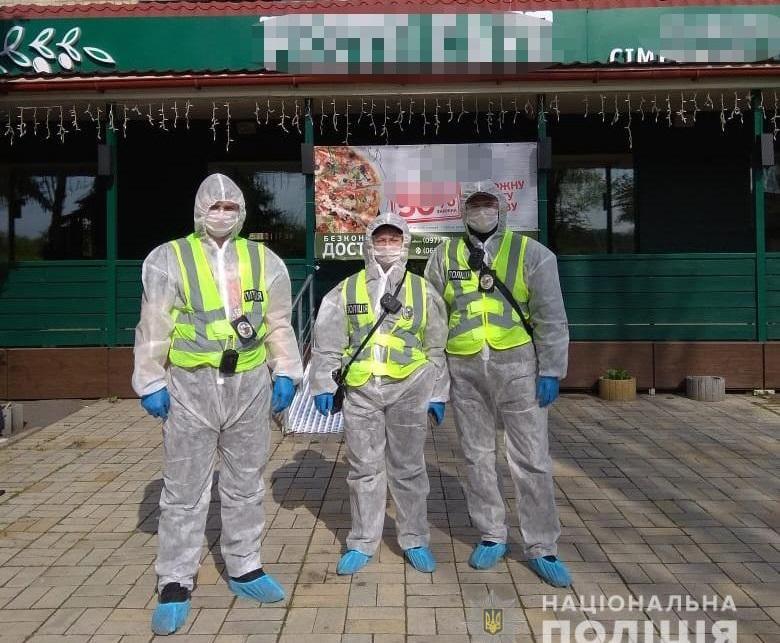 В Киеве полиция обнаружила два ресторана, которые работали несмотря на карантин / фото kyiv.npu.gov.ua
