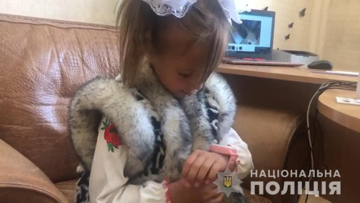 Полиция выразила благодарность родителям за воспитание ребенка / фото: ГУ НП Одесской области
