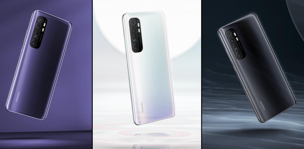 Смарфон премиальной линейки Mi Note 10 Lite \ @Xiaomi