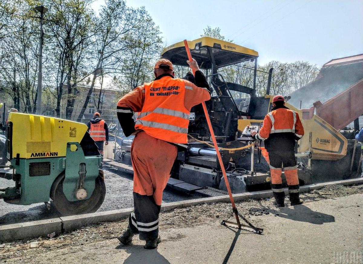 Украинским дорожникам обещают минимальную зарплату и соцгарантии / фото УНИАН